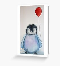 WHO SAYS I CAN'T FLY Greeting Card