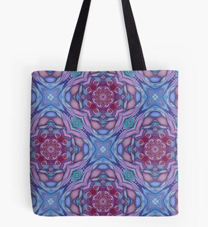 Crystal Lotus Tote Bag