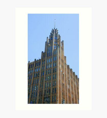 Manchester Unity Building, Melbourne Art Print