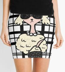 French Poodle Mini Skirt