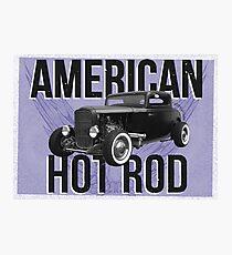 American Hot Rod - blue version Photographic Print