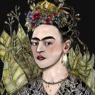 Frida Kahlo Self Portrait #2 (my version) by Jenny Wood