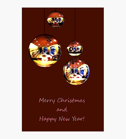 Merry Christmas and Happy New Year! Photographic Print