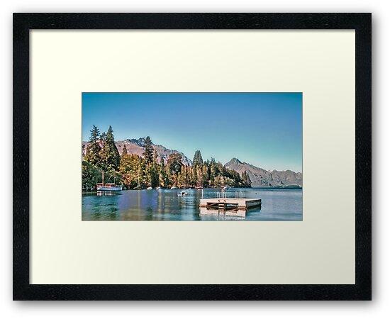 Lake Wakatipu, Queenstown, New Zealand by elspiko