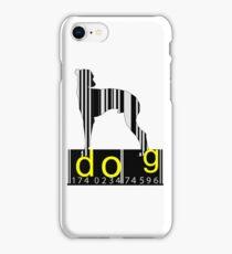 Barcode Dog iPhone Case/Skin