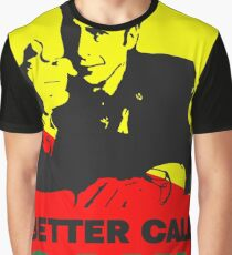 Better Call Saul (Red/Yellow) Graphic T-Shirt