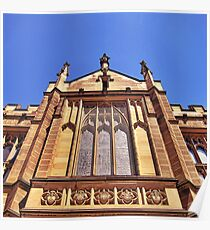 Gothic Revival Architecture. Poster