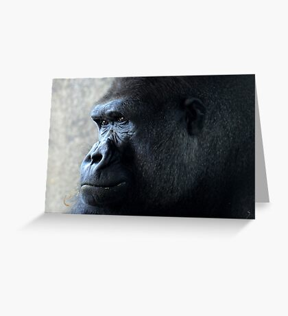 Gorilla Greeting Card
