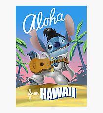 Lámina fotográfica Aloha de Hawaii