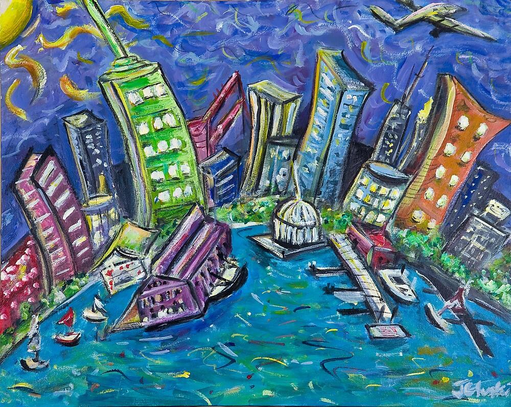 On The Hudson River by Jason Gluskin