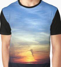 Ballyholme Sundown Graphic T-Shirt