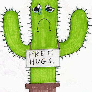 free hugs cactus by chr15w00d