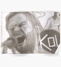 Caleb Followill (Kings of Leon) Poster