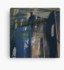 Urban Blue Canvas Print
