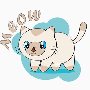 Meow kitty by bastetsama