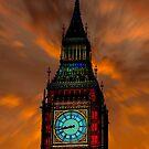 Big Ben Digital Sunset by Chris Thaxter