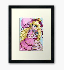 Lolita Princess Peach Framed Print