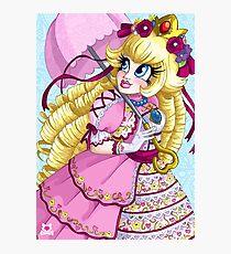 Lolita Princess Peach Photographic Print