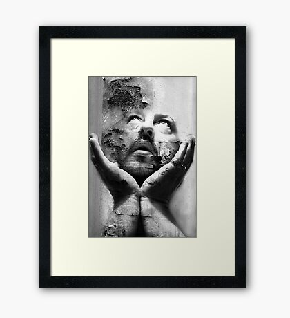 Hold Your Head Up Framed Print