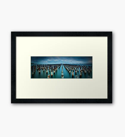 Princes Pier-5 Framed Print