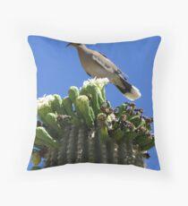 White-winged Dove Throw Pillow
