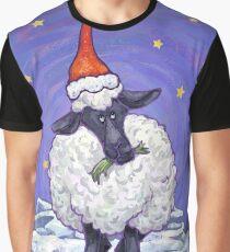 Sheep Christmas Graphic T-Shirt