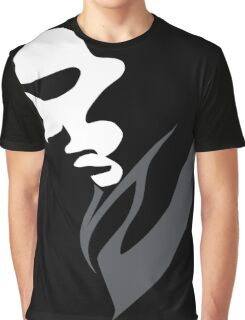 Mysterious with Cheekbones Graphic T-Shirt