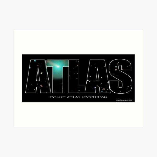 Comet Atlas Art Print