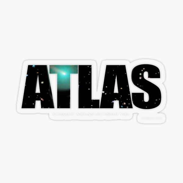 Comet Atlas Transparent Sticker