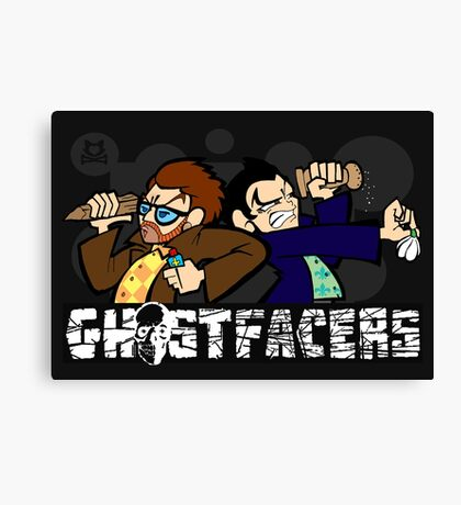 Ghostfacers! Canvas Print