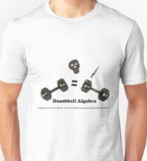 Dumbbell Algebra Unisex T-Shirt