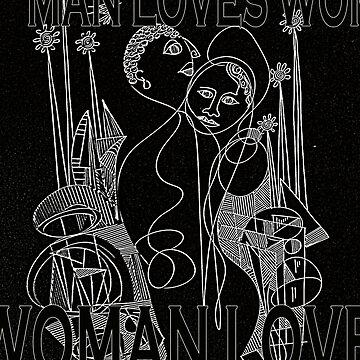 Manloveswomanwomanlovesman by osacip