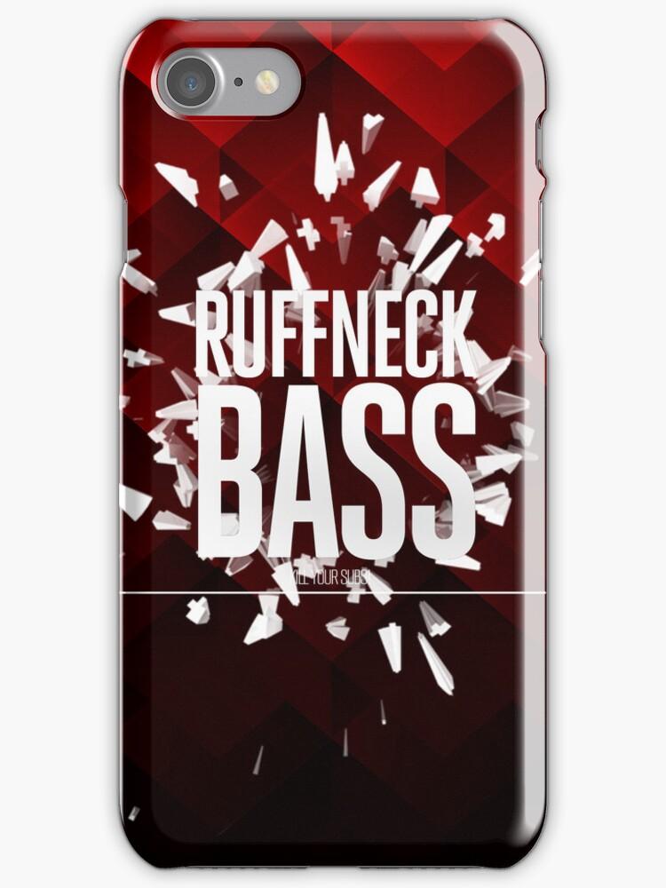 Ruffneck Bass | Dubstep iPhone Covers by Moe Pike Soe