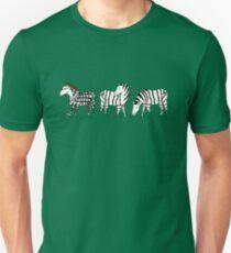 Hipster Zebra T-Shirt