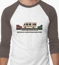 Oregon Road Trip Men's Baseball ¾ T-Shirt