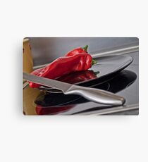 The Red Paprika Canvas Print