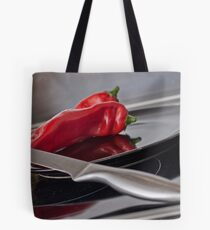 The Red Paprika Tote Bag
