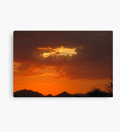 Arizona Sunset ~9 Canvas Print