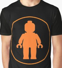 MINIFIG ORANGE  Graphic T-Shirt