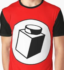 1 x 1 Brick Graphic T-Shirt