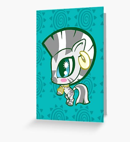 Weeny My Little Pony- Zecora Greeting Card