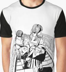Japanese School Girls Graphic T-Shirt