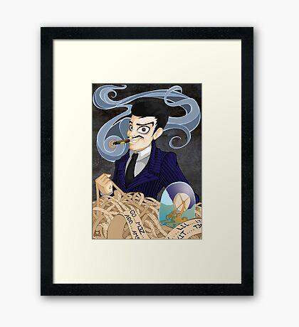 Gomez Addams Framed Print