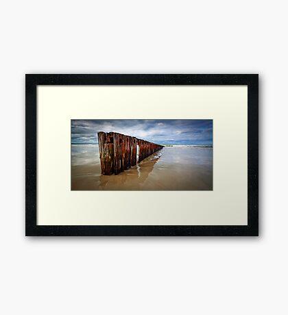 Old Timber Panorama Framed Print