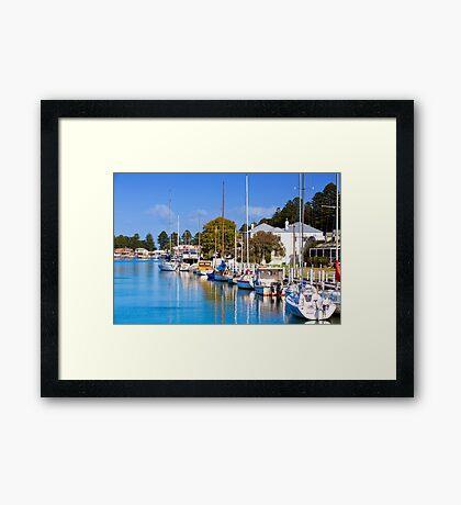 Moyne River - Port Fairy Framed Print