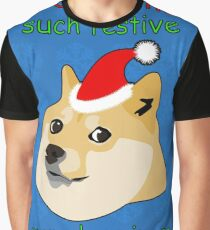 So Christmas - Doge Graphic T-Shirt