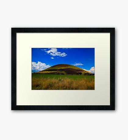 Mount Elephant Framed Print