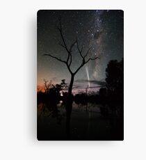 Comet Reflections Canvas Print