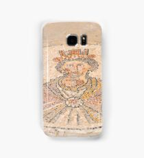 Israel, Bet Shean, The Sigma, A mosaic depicting Tyche, Goddess of the city.  Samsung Galaxy Case/Skin
