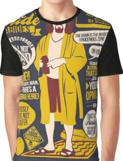 The Dude Quotes Graphic T-Shirt